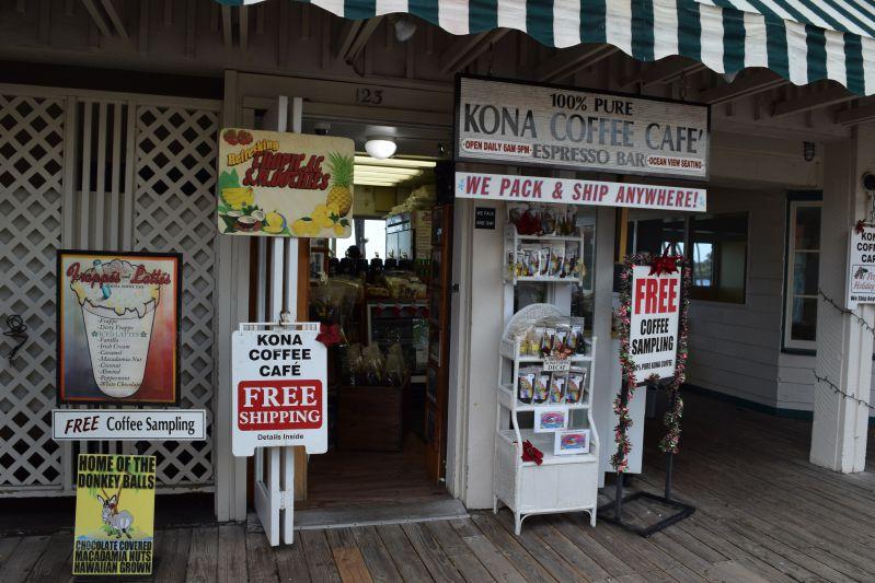 コナ・コーヒーのお店