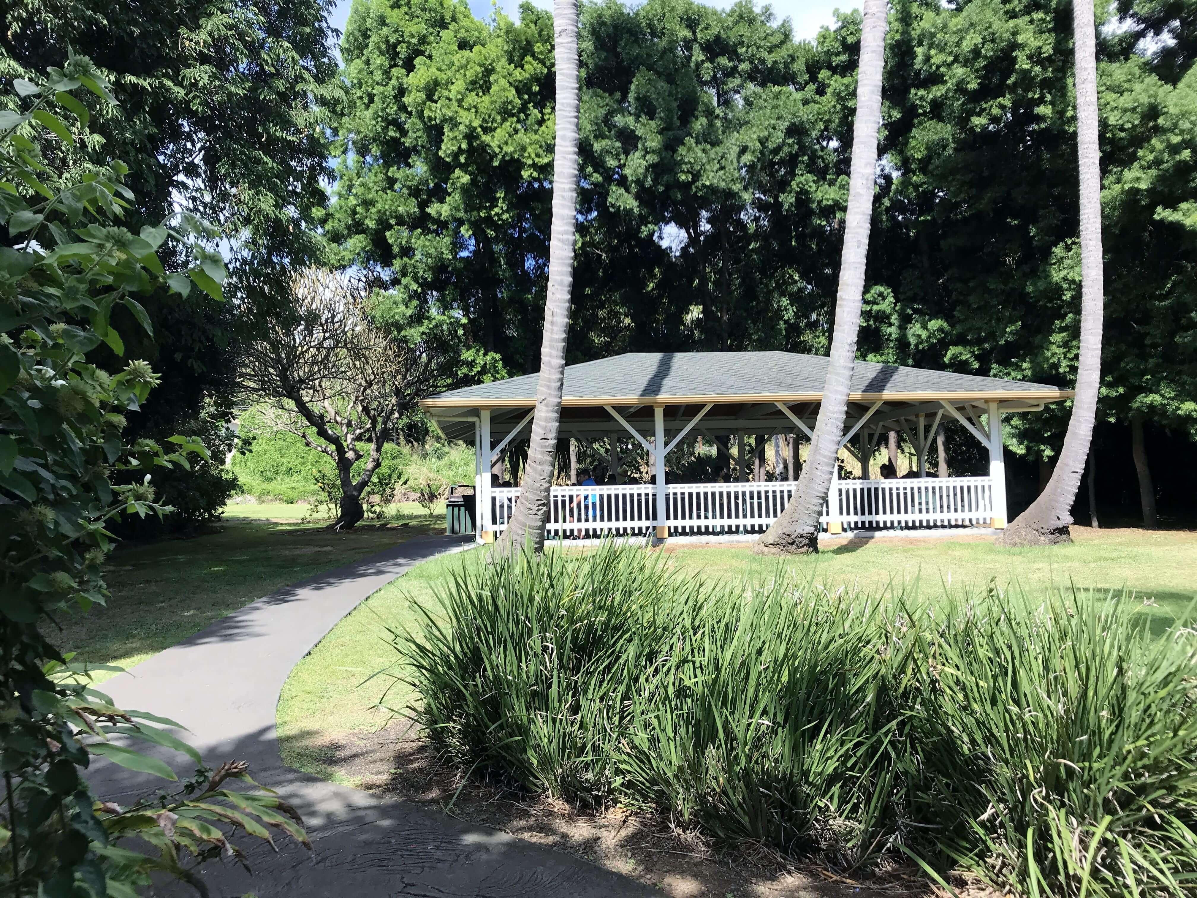ハワイ-プナルウベイクショップ-ガーデン2