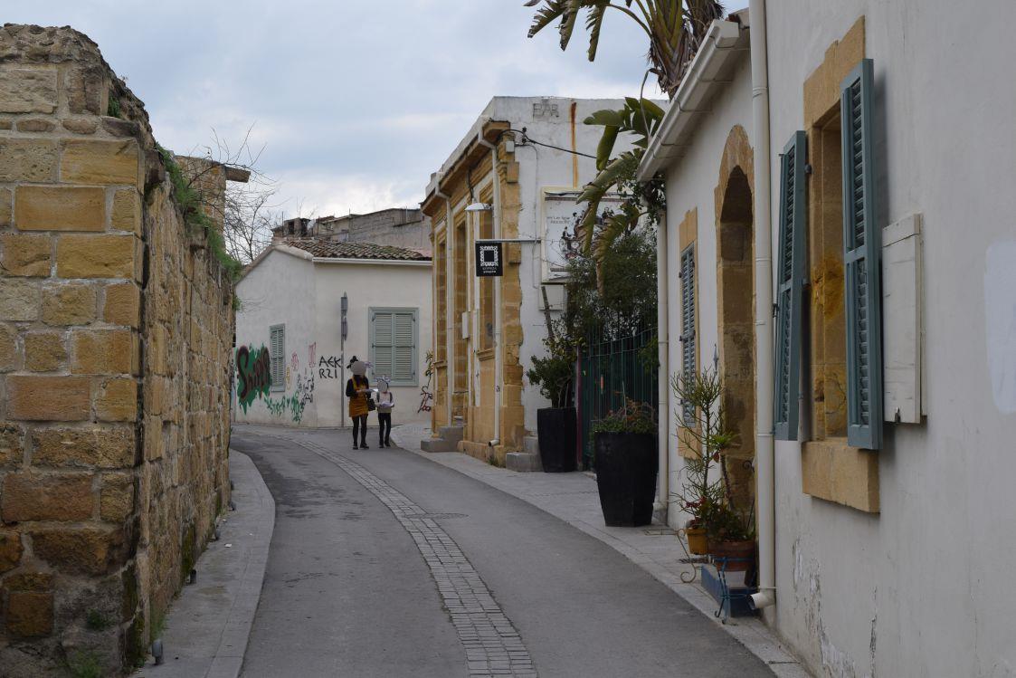 ニコシア-旧市街地-オシャレな街並み