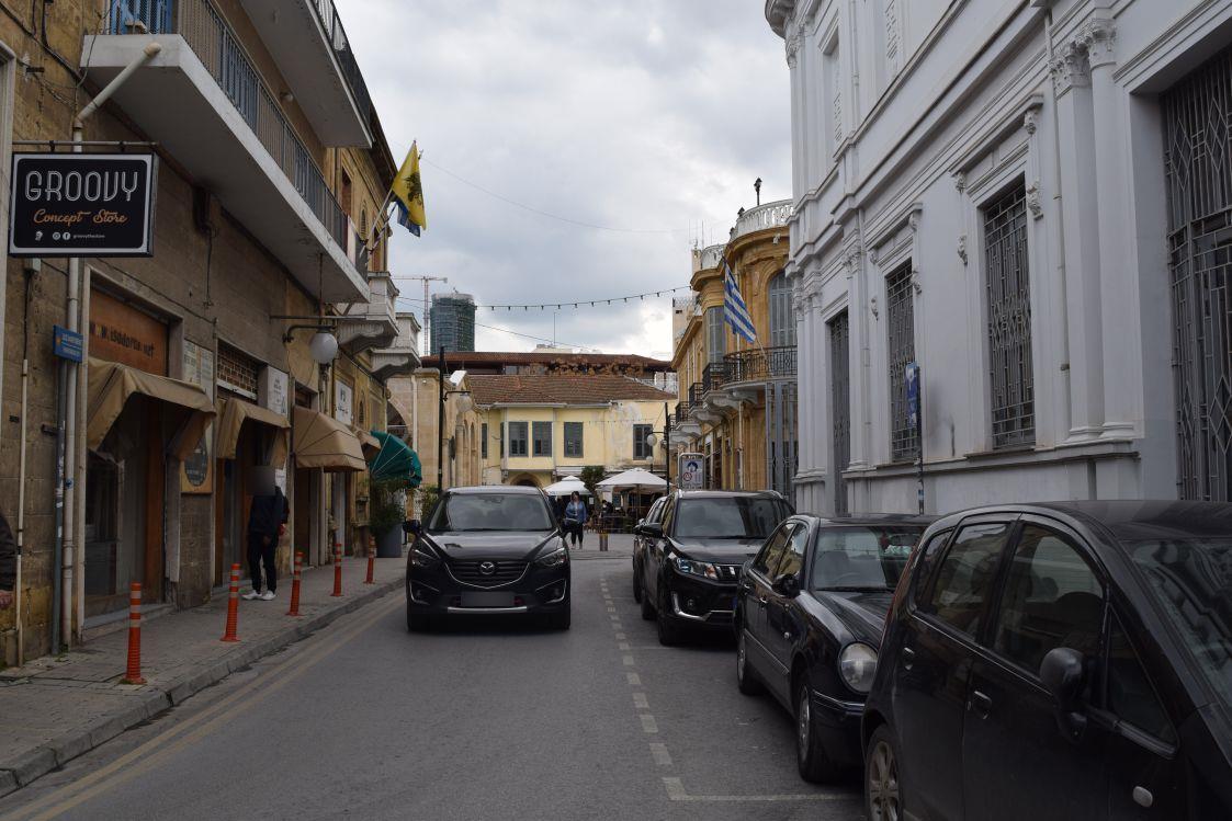 ニコシア-旧市街地-中心部