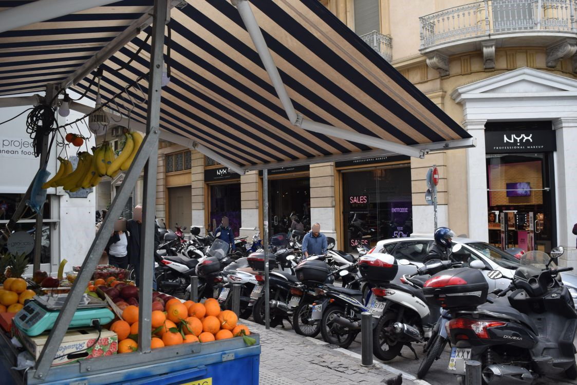 iForex-アテネ-周辺街角
