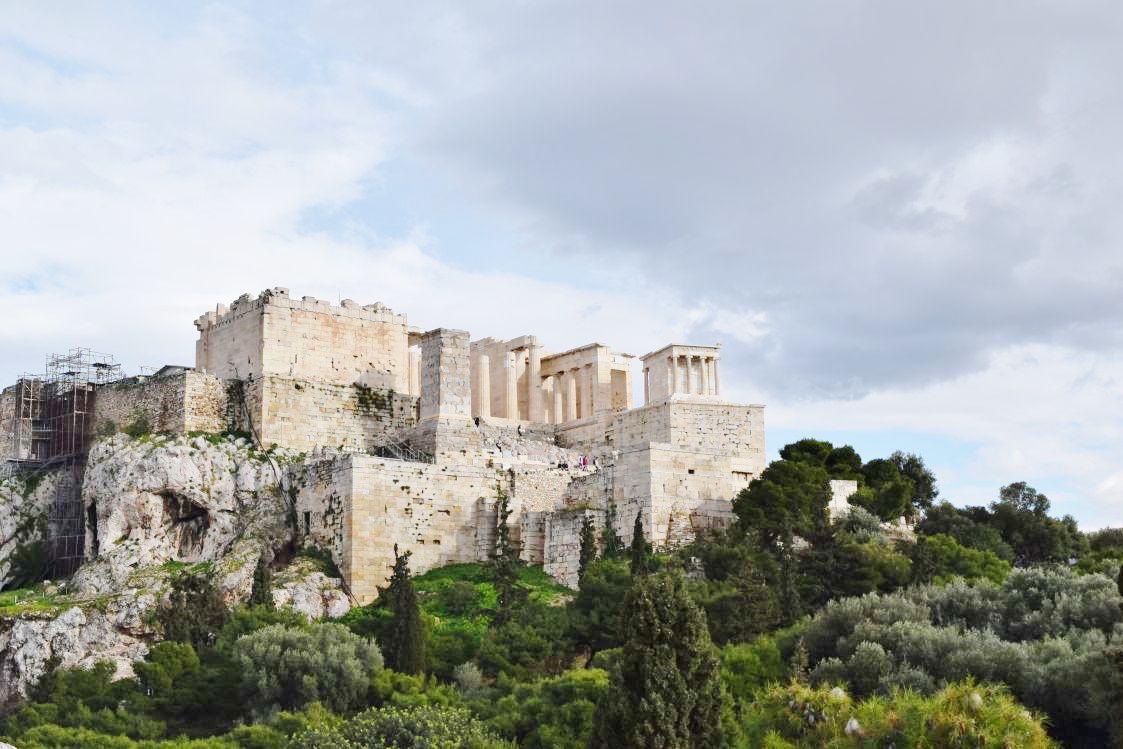 アクロポリスの丘-遠景