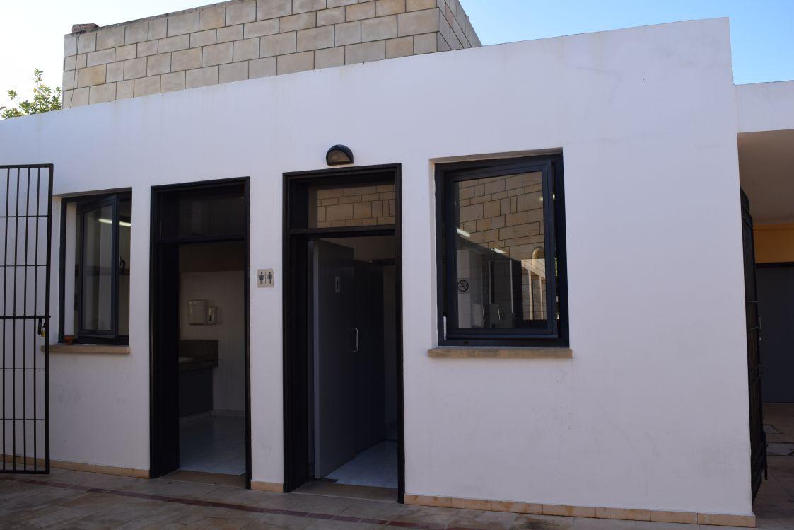 パフォス考古学公園-トイレ