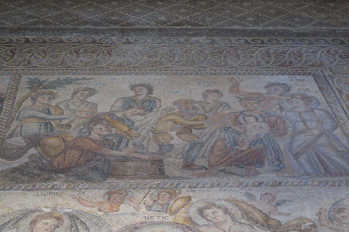 パフォス考古学公園-アイオンの家-デュオニソスの誕生