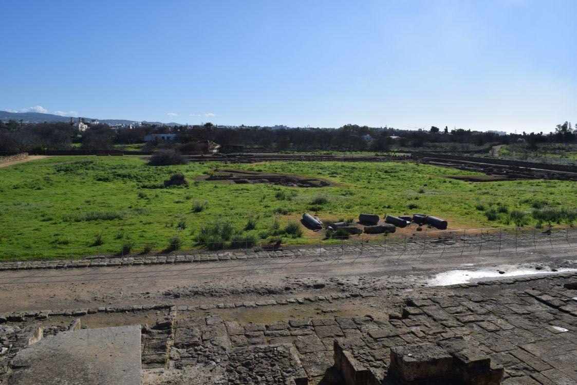パフォス考古学公園-アゴラ