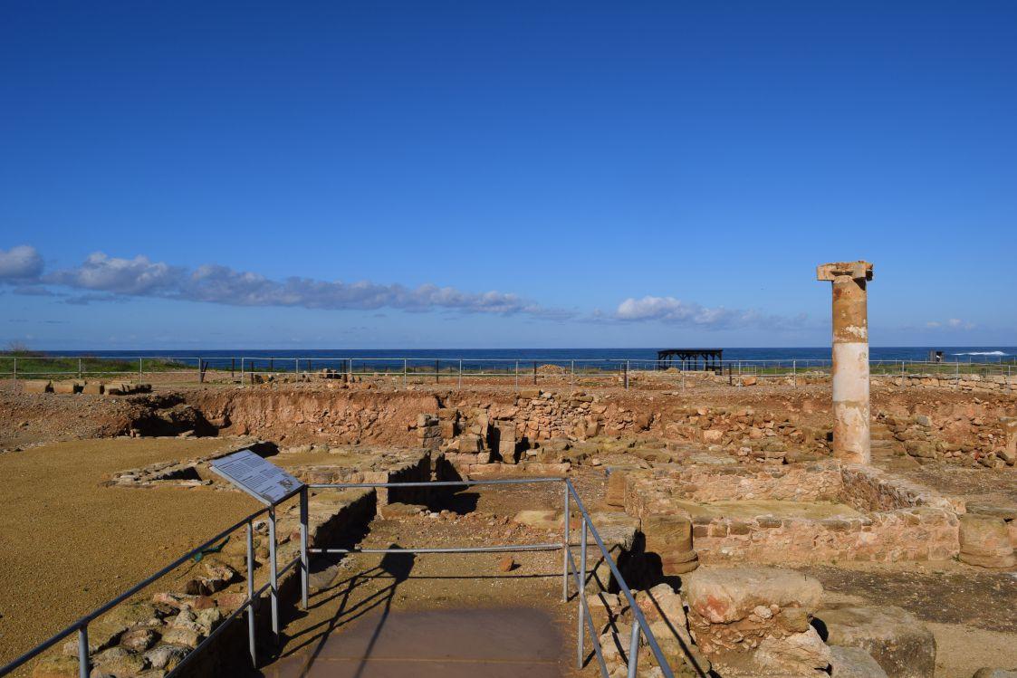 パフォス考古学公園-オルフェウスの家