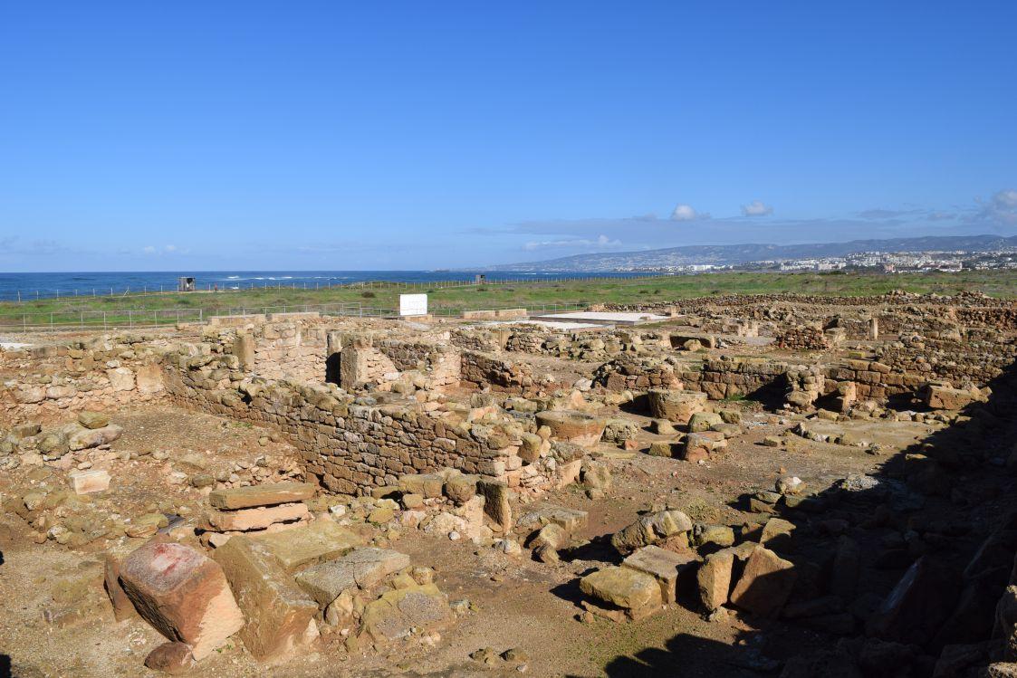 パフォス考古学公園-オルフェウスの家-跡地