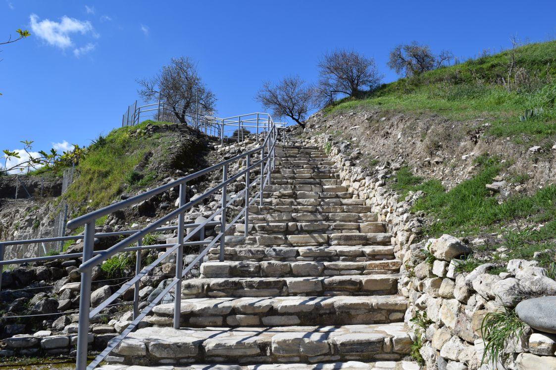 ヒロキティア-順路の階段