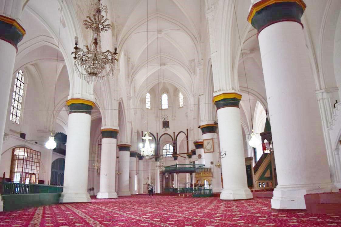 北キプロス-ニコシア-セリミエ・モスク-内部