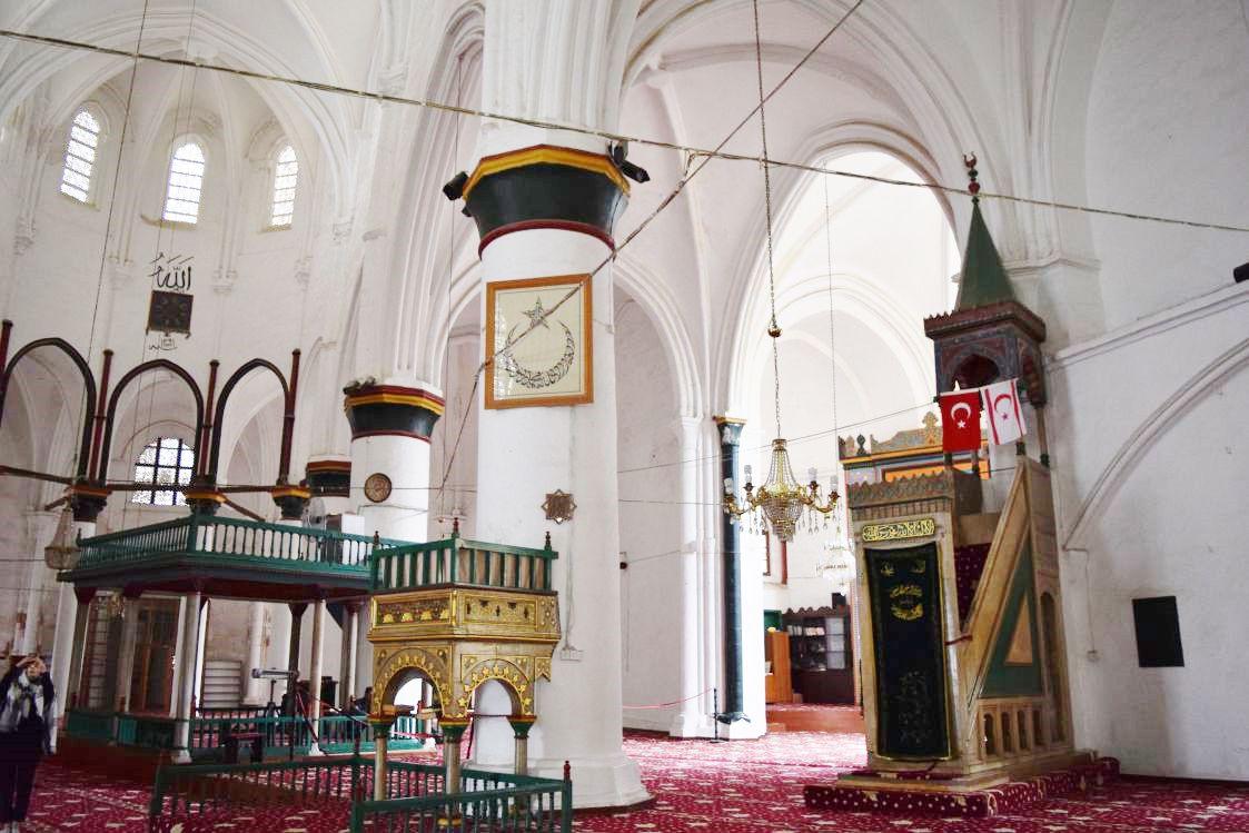 北キプロス-ニコシア-セリミエ・モスク-ミフラーブ