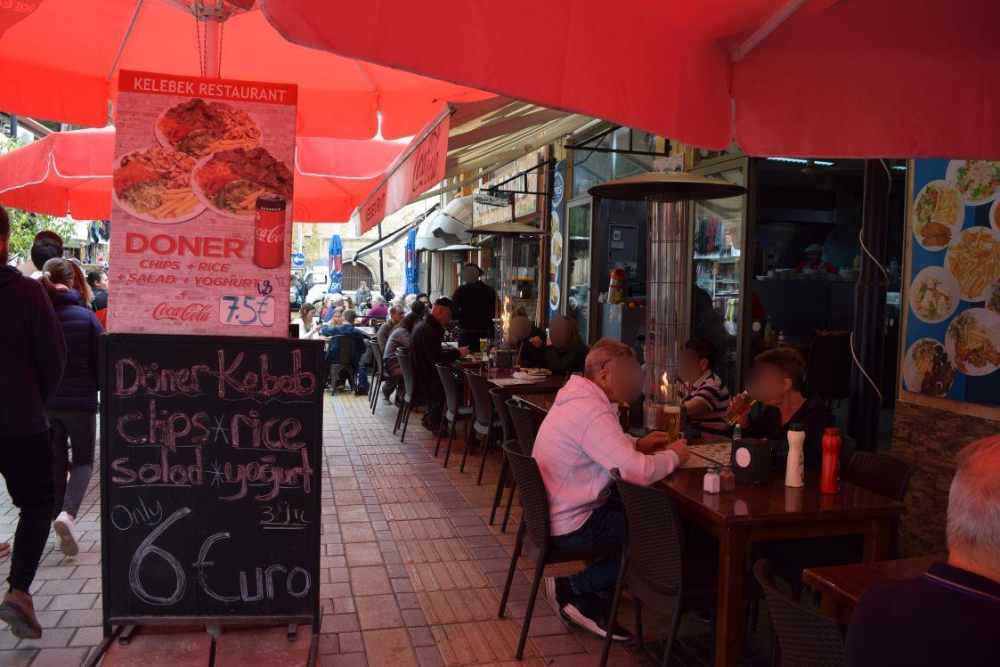 北キプロス-ニコシア-レストラン