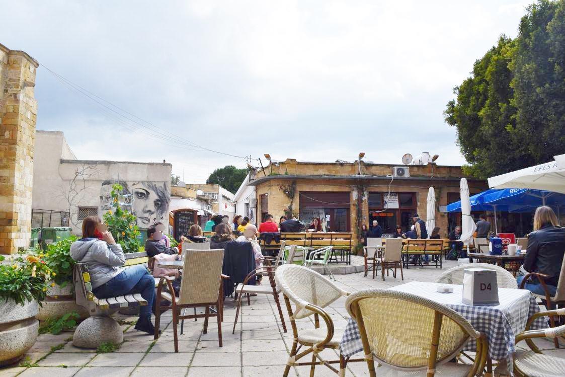 北キプロス-ニコシア-レストラン-ケバブ