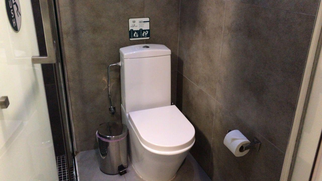 アキレオス シティ ホテル-トイレ