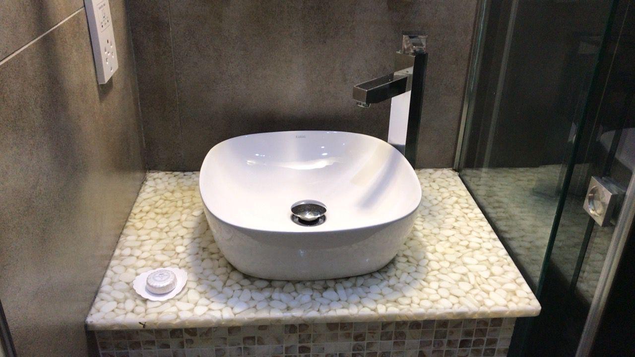 アキレオス シティ ホテル-洗面台