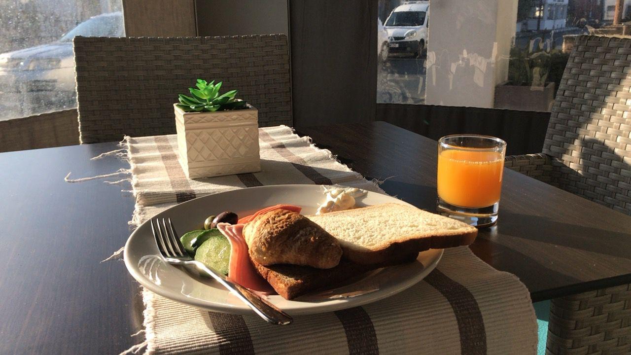 ピラモスホテル-朝食
